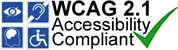 W.C.A.G. 2.1 Accessibility Compliant